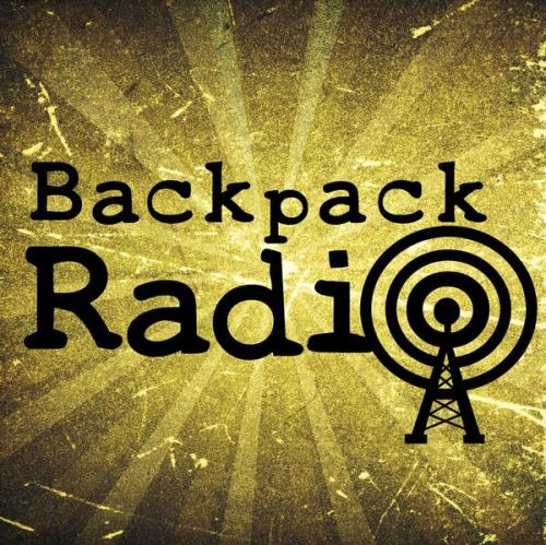 Backpack radio