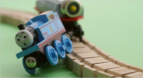 toy train wreck