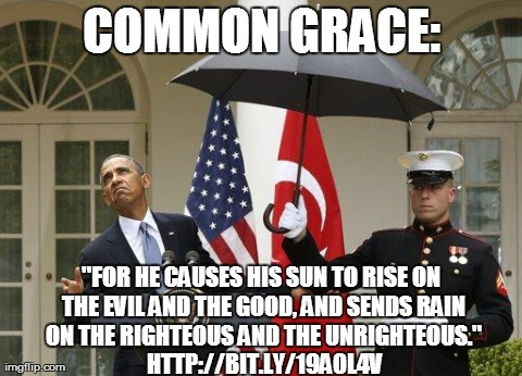 Obama common grace