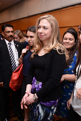 Chelsea Clinton at Women Deliver Conference, May 2013