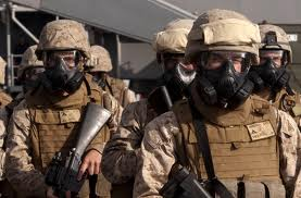 marine gas mask