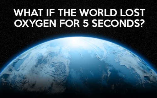 If The World Lost Oxygen For 5 Seconds presuppositional apologetics