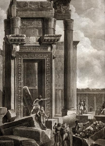 Palmyra- Cassas Baal Temple