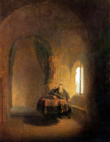 Rembrandt-philosopher