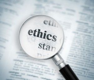 ethics under scope