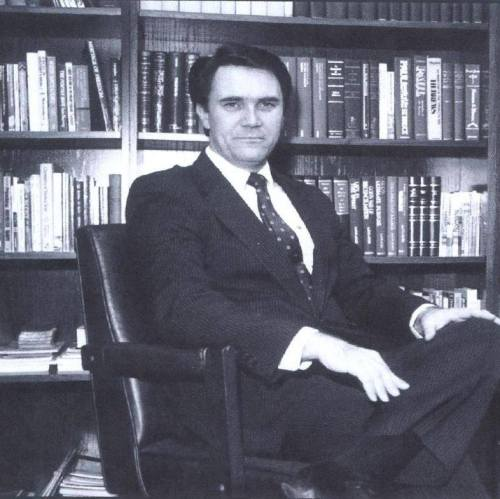 Greg Bahnsen sitting down