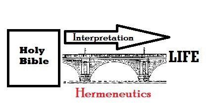 Bible hermeneutical bridge to life