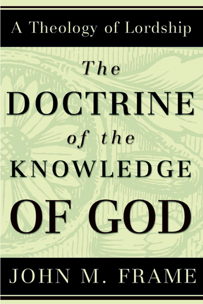 a review of the doctrine of John frame the doctrine of god phillipsburg, nj: presbyterian and reformed  publishing, june 1st, 2002 864 pp rating: 5 out of 5 this book.