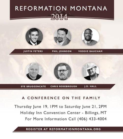 Reformation Montana 2014
