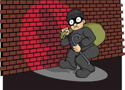 dumb robber