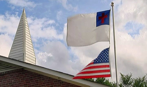 My thoughts on the news of church flying Christian flag ...