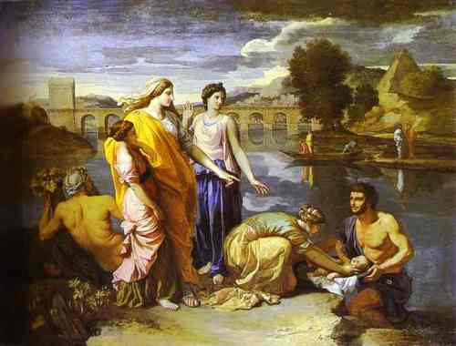 nicolas-poussin-pharaohs-daughter-finds-baby-moses