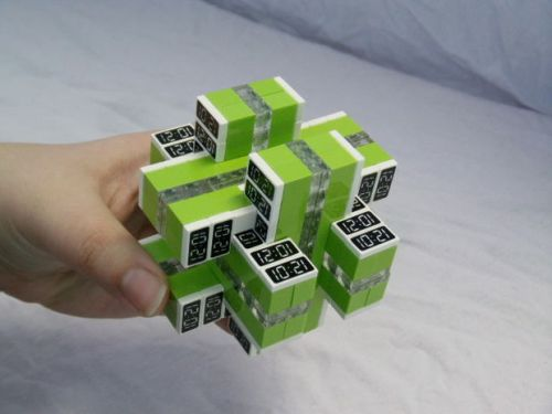 Lego time puzzle