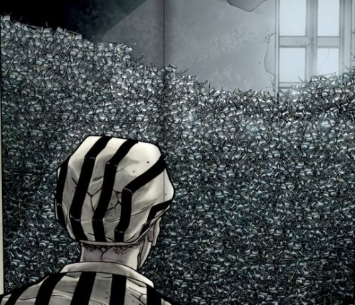 Magneto in Concentration Camp