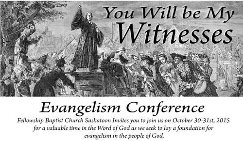 You Will Be my Witnesses Saskatoon Canada Conference