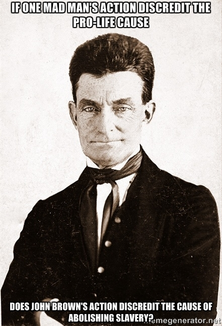 John Brown refute planned parenthood argument