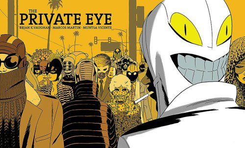 The Private Eye Cloudburst Edition by Brian K. Vaughan