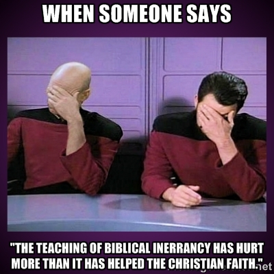silly objection to inerrancy