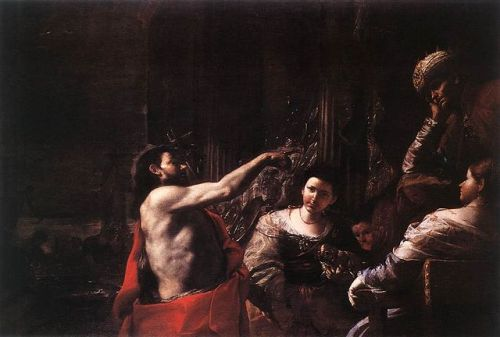 Preti John the Baptist before Herod
