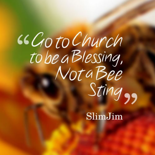 blessing or beesting