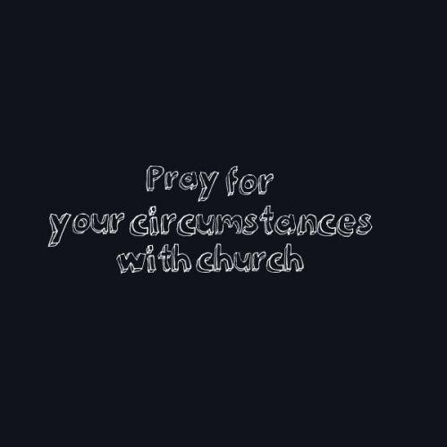 pray for church