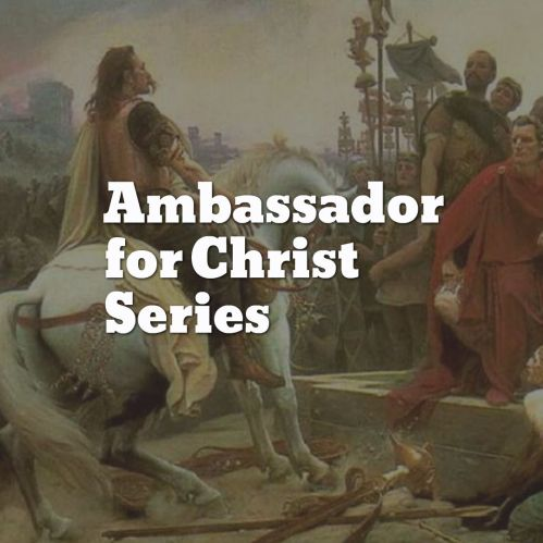 ambasssador of Christ image series