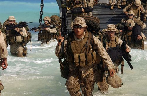 Marines body armor