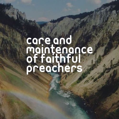 care of pastors