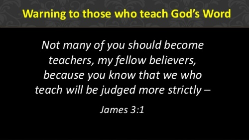 James 3 verse 1
