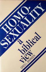 Sermons on homosexuality pdf