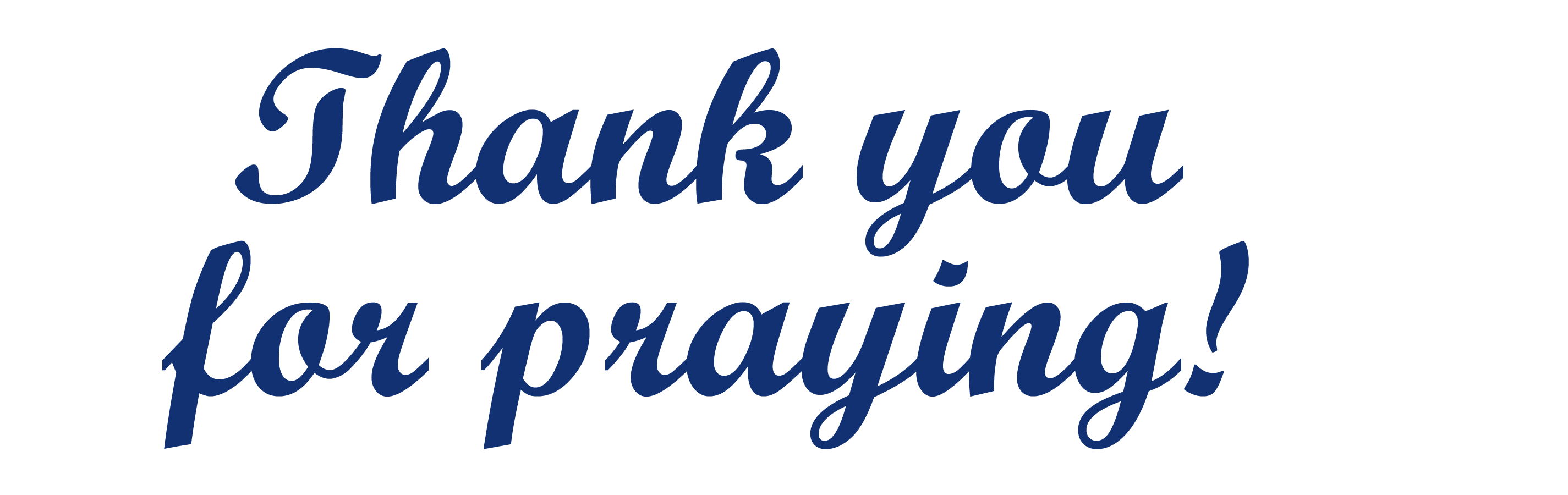 Image result for thank you for praying