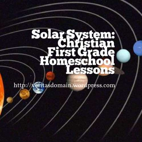 Solar System First Grade Homeschool Lesson 4: Earth