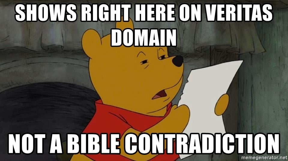 Pooh not a contradiction